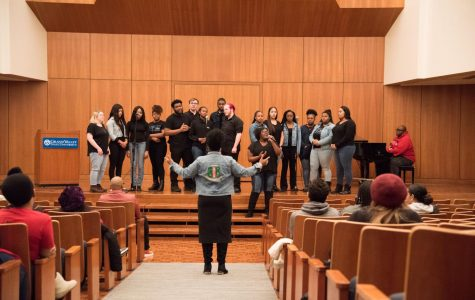 Students celebrate gospel music with Voices of GVSU