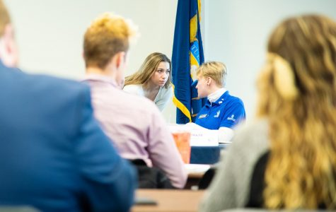 Student Senate invites Cook Leadership Academy, discusses higher education funding