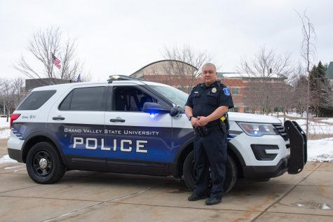 'This is my Home:' Officer Minh Lien protects GVSU while having a lot of fun