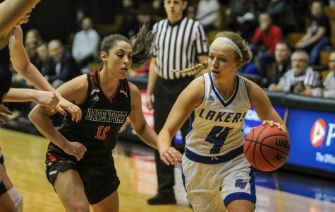 Hedemark, Boensch propel Lakers to dominant win on senior night