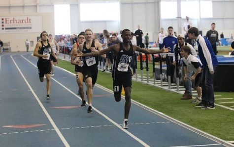 Dennis Mbuta shatters both 600m, mile records