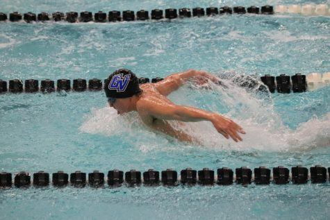 GVSU Swimming & Diving dominates competition in Florida meet