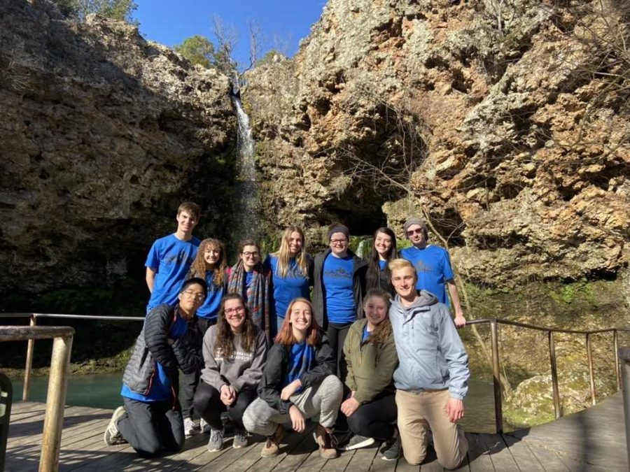 GV highlights successful alternative break volunteer trips