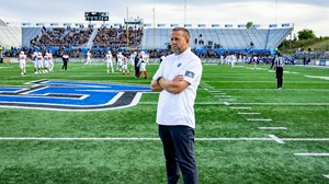 GVSU Football reacts to Black Lives Matter protests, gettting closer in tough times, and possibly playing in an empty stadium in the Fall