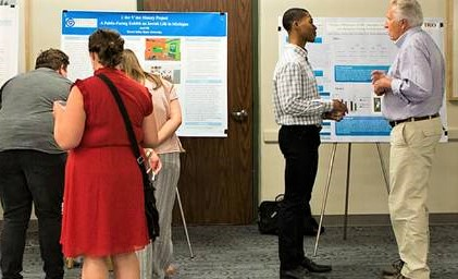 Unlike previous years, Grand Valley's student researchers will be presenting their scholarship virtually, not in-person. (Courtesy/Student Summer Scholars)