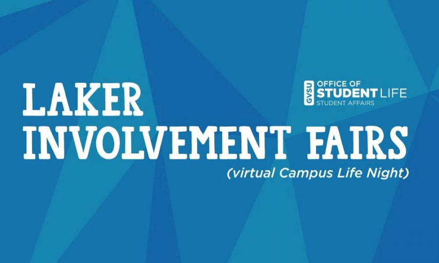 Virtual Campus Life Night Banner // Courtesy to GVSU