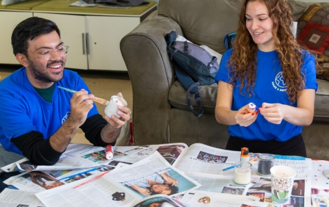 The Community Service Learning Center has gotten creative in finding ways for Grand Valley students to give back to their community. (Courtesy / CSLC)