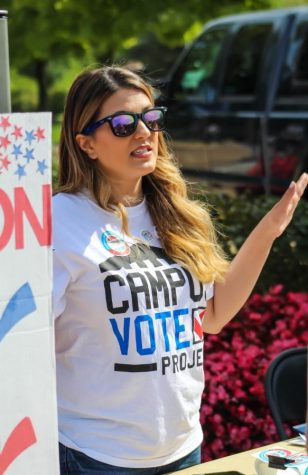The Community Service Learning Center is striving to engage students with the election on Nov. 3. (GVL/Megan Landgren)