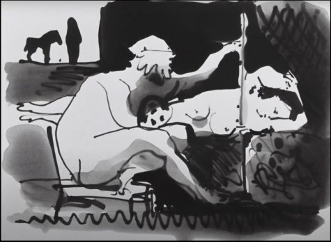 GVL / Sheila Babbitt. French Film The Mystery of Picasso / Le Mystere Picasso