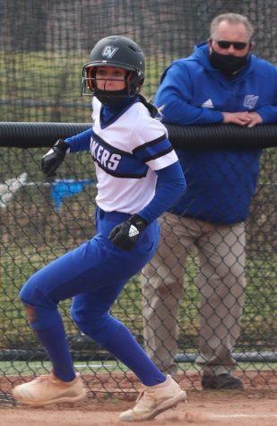 GVL/Katherine Vasile, 03/27/21, GVSU Softball 03/27/21, 1 Campus Dr, Allendale, MI 49401