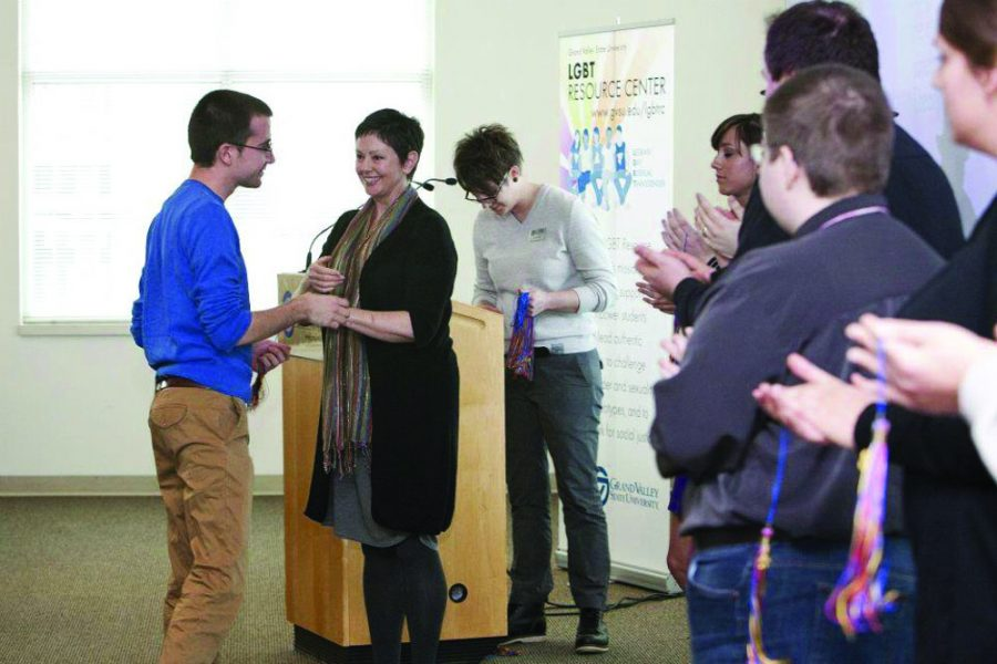 During the celebration, one outstanding student will be honored with the LGBTQIA+ Graduate Award. (Courtesy GVL Archives)