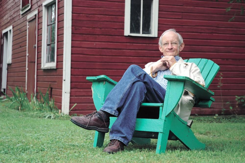 Courtesy Photo / Mary PirkolaPoet Ted Kooser will be accompanying fellow poet Terrance Hayes on Friday in the L. V. Eberhard Center for An Evening of Poetry and Coversation with Ted Kooser and Terrance Hayes.