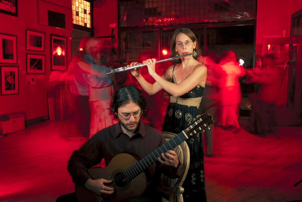Courtesy Photo / Carmen MaretThe duo Folias will be holding a Tango workshop on October 14th. Folias is Andrew Bergeron and Carmen Maret