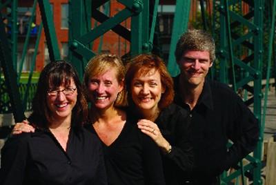 GVL / Courtesy PhotoPerugino String QuartetLeft to right: Barbara Corbato, Stacey Bosman Tanner, Diane McElfish Helle, Eric Tanner