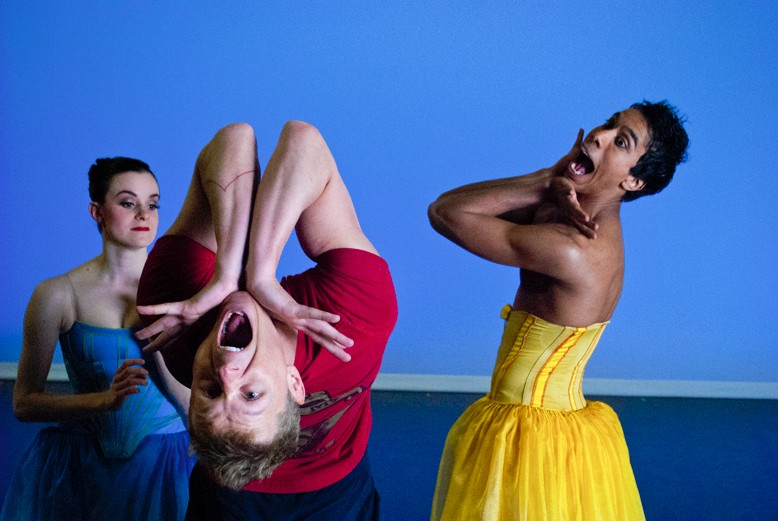 Courtesy Photo / Jason YanceyRehearsal of GR Ballet MOVEMEDIA