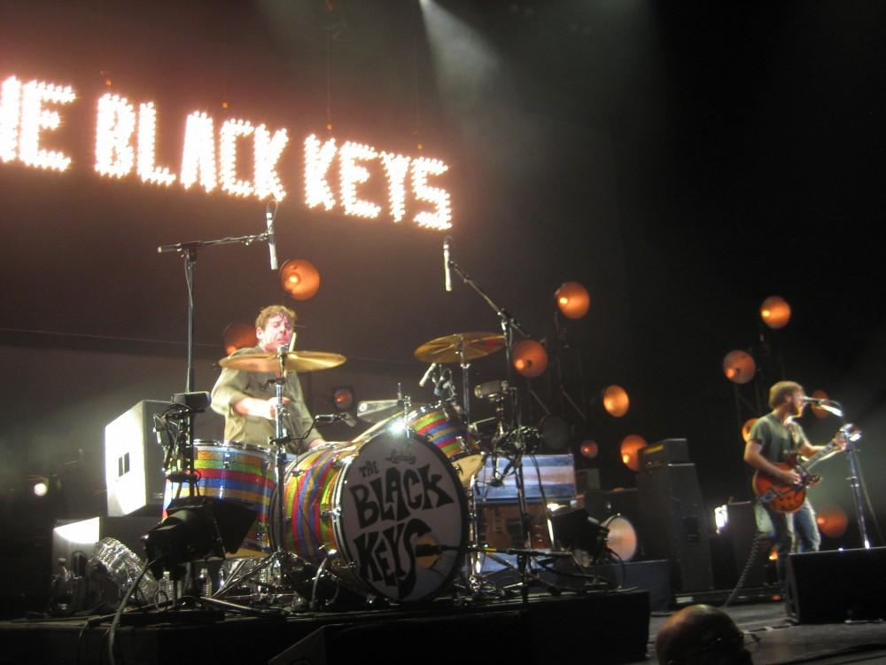 GVL/ Cory Finkbeiner The Black Keys played at Van Andel Arena in downtown Grand Rapids.