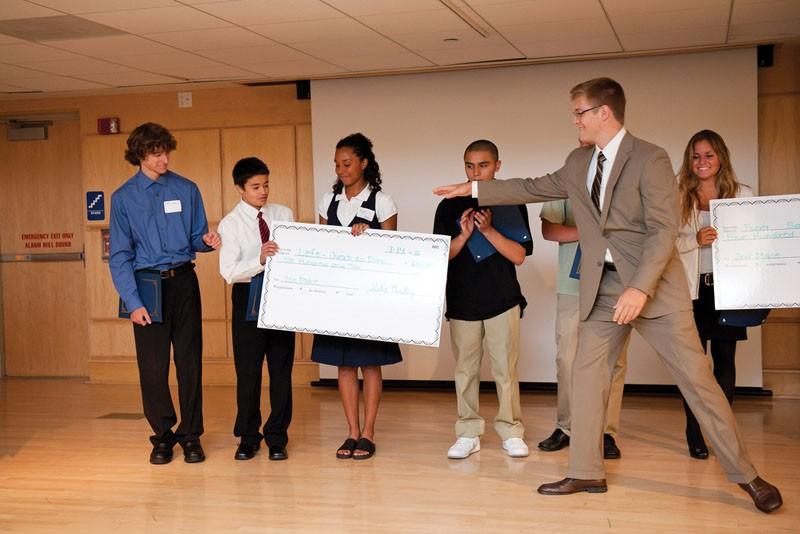 Courtesy Photo / gvsu.eduFinal Pitch Day at last years Teen Entrepreneur Summer Academy.