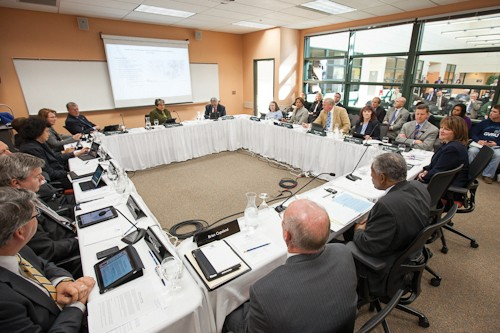Courtesy Photo / gvsu.eduThe Board of Trustees met in Holland on Friday.