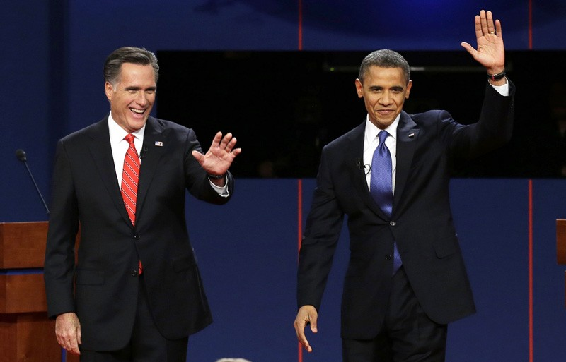 Courtesy / pennlive.comRepublican presidential nominee Mitt Romney and President Barack Obama