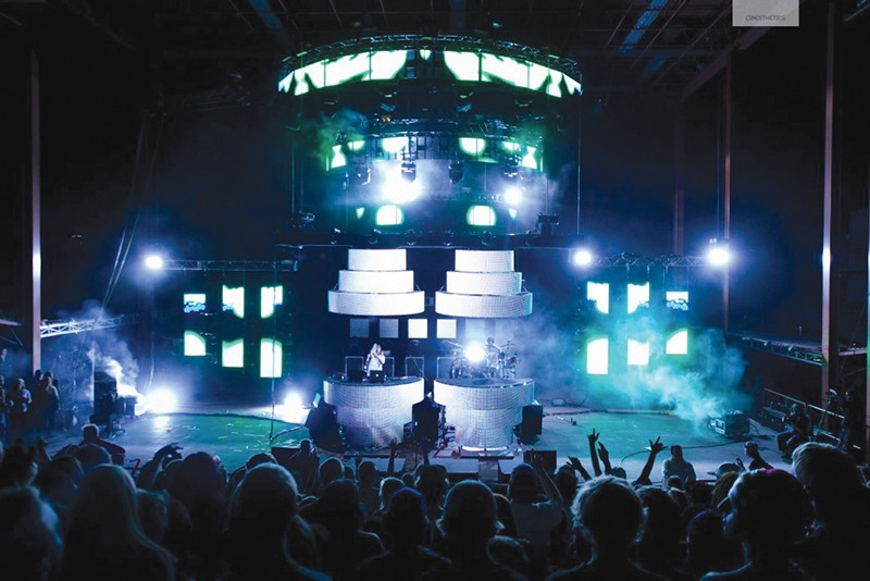 Courtesy / msorp.comBig Gigantic performing at Red Red Rocks Amphitheatre