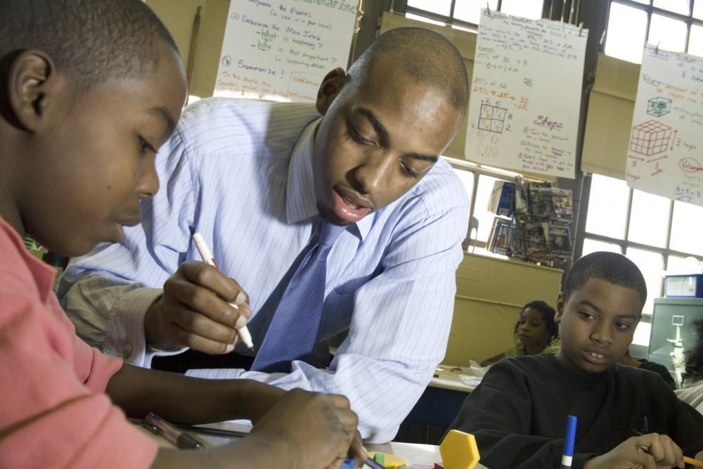 Courtesy Photo / Teach for AmericaLeslie-Bernard Joseph taught in New York City in 2007 for Teach for America.