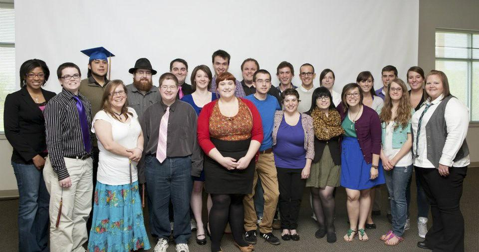 Courtesy Photo / GVSU News & InformationStudents are honored during last years Lavender Graduation.