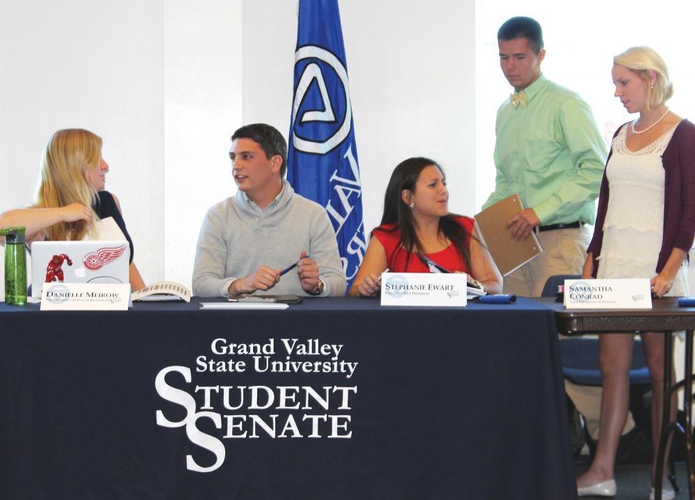 GVL / Laine GirardPresident Ricardo L. Benavidez expressing his thanks to guest speakers for their presentation on Sexual Assalt.
