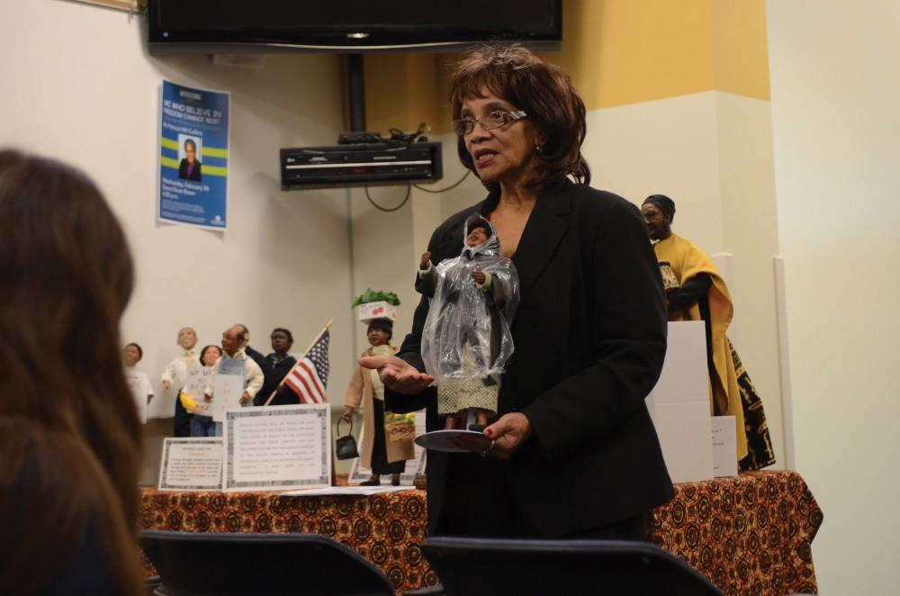 GVL/Kevin SielaffHistorical doll sculptor and designer, Lena Newton, tells the story of important figures throughout African-American history through her realistic, clay representations of them.