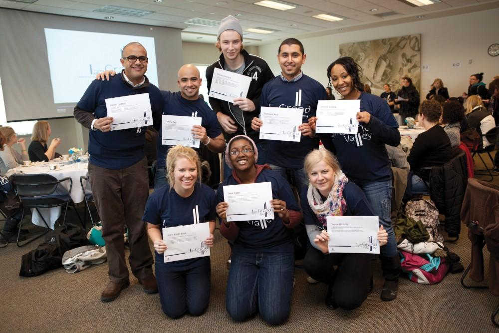 Courtesy / Office of Student Life2012 I am Grand Valley Reception.