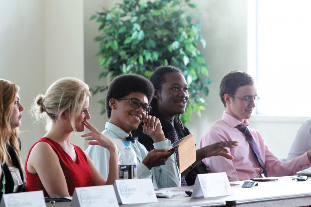 GVL / Emily FryeStudent Senate Meeting