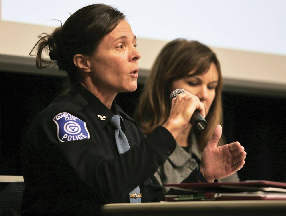 GVL/Kevin SielaffPolice Chief Renee Freeman