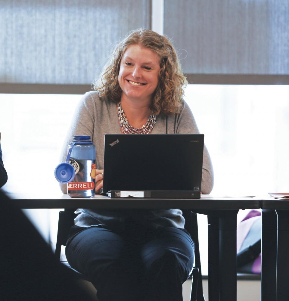 GVL/Kevin SielaffDr. Tonya Parker; associate professor and clinical coordinator. (ECS 2014)