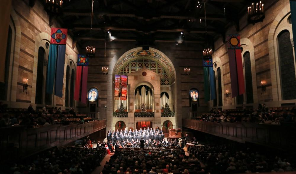 GVL / Kevin Sielaff - Moments from the Fall Arts Celebration holiday concert Dec. 7 at the Fountain Street church in Grand Rapids, Michigan.