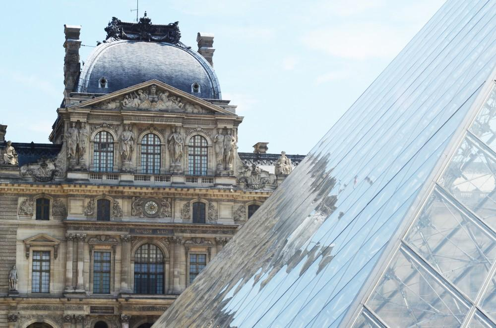 GVL / Kevin Sielaff - Each year, thousands of spectators visit Paris to see the treasures stored within the archives of le Musée du Louvre (The Louvre). The north exterior of The Louvre is seen above, on July 31, 2014 in Paris, France.
