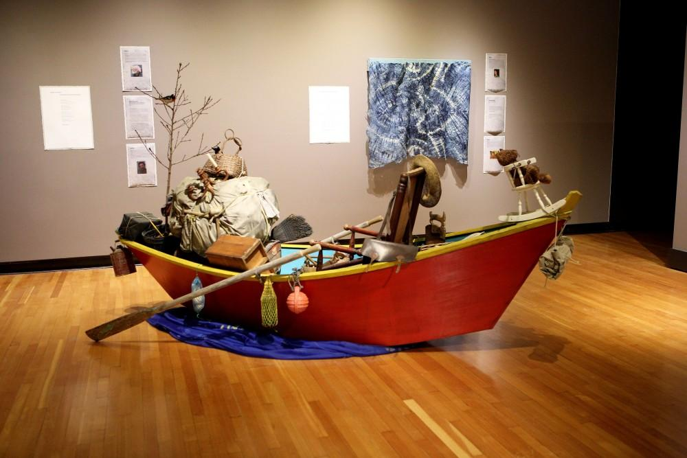 GVL / Emily FryeGrand Valley State University Art Gallery displaying a new exhibit about the Great Lakes. It is set to open Jan. 19th.