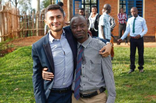 GVL / Courtesy - GVNowMario Amaya, a 2013 Grand Valley graduate who volunteered for the Peace Corps.
