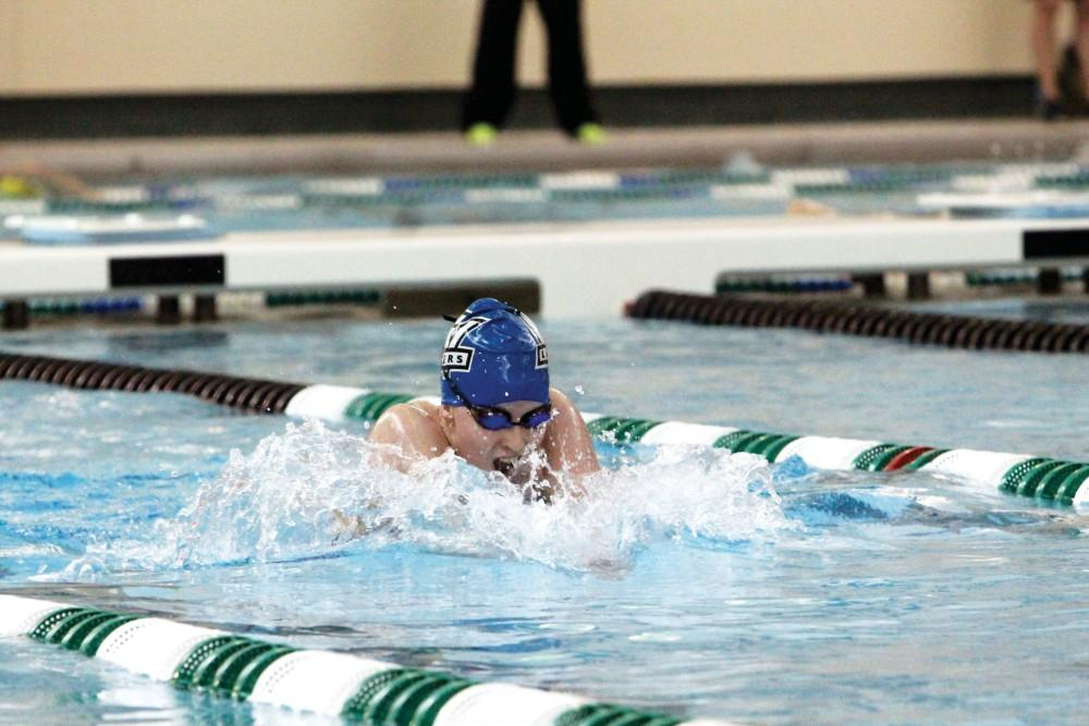 GVL / Emily Frye - Emily Gallagher in action on Monday, Jan. 12, 2015.