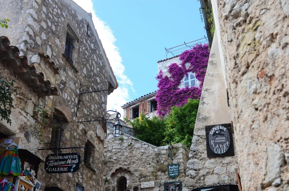 GVL/Kevin Sielaff - The interior of the village of Èze in southern France, pictured on Thursday, July 10, 2014.