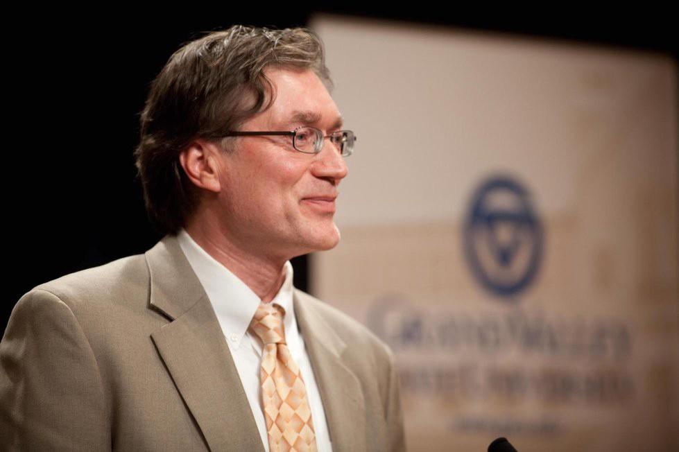 GVL / Courtesy - GVSU.eduMichael DeWilde, Koeze Business Ethics Initiative Director and Professor of Philosophy at Grand Valley State University