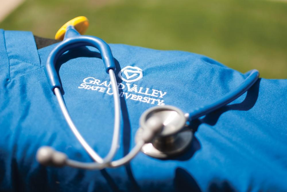 GVL / Archive - GVSU scrubs are pictured on Tuesday, Sept. 2, 2014.