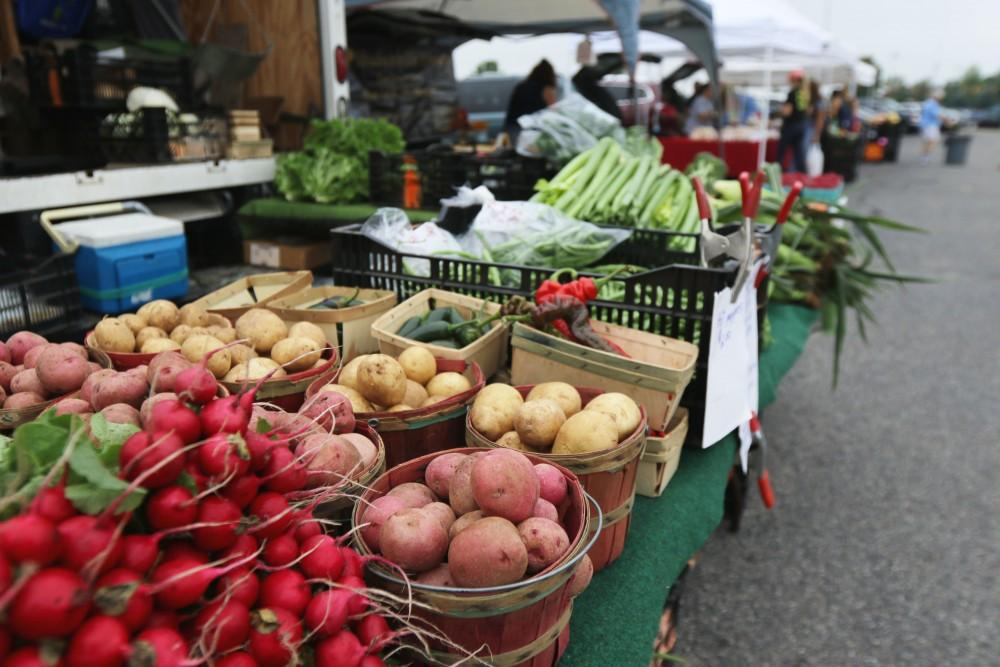 GVL / Luke Holmes - The Farmers Market was held in Parking Lot G on Wednesday, Sept. 7, 2016.