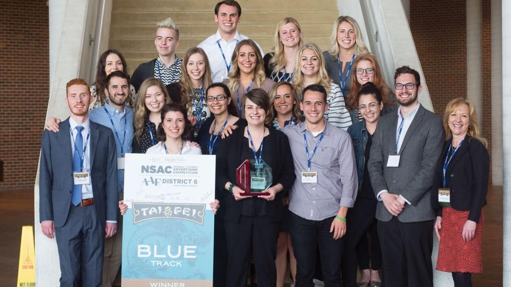 GVL - Courtesy of GVNow.comNational student advertising team wins mega-district competition