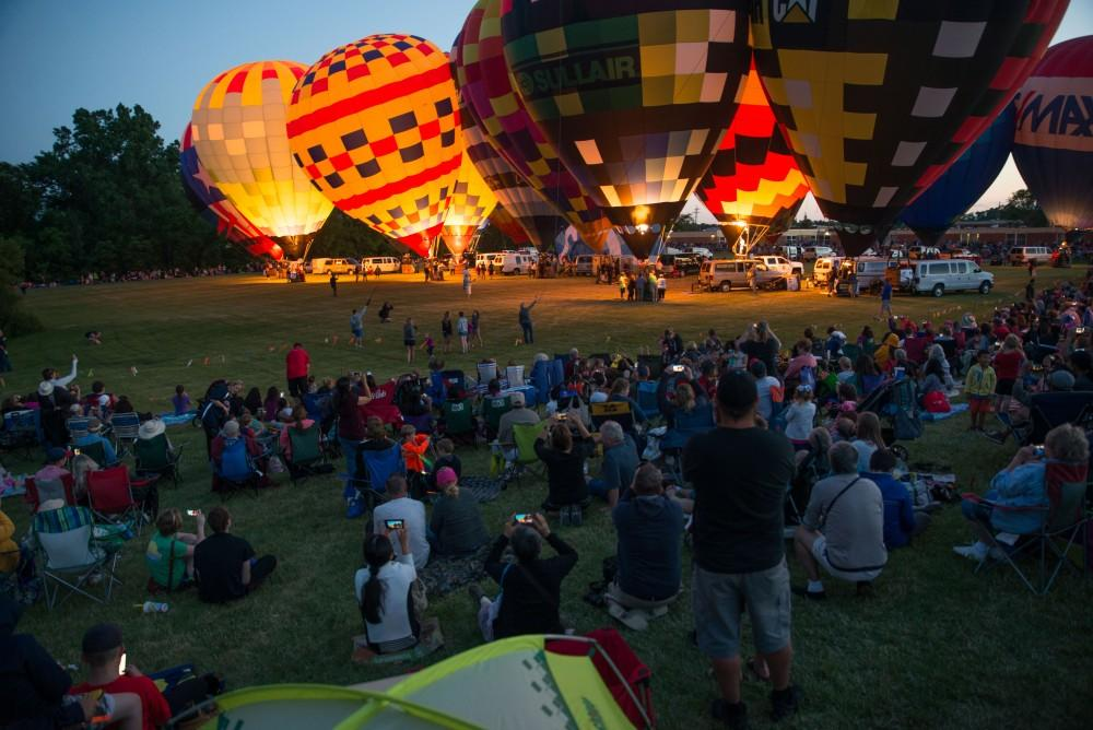 GVL / Luke Holmes - The Michigan Challenge Balloonfest was held in Howell, MI on Saturday, June 24, 2017.
