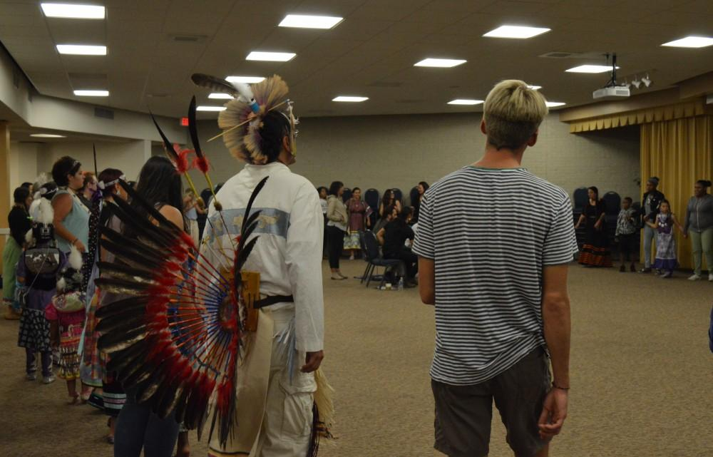 GVL/Hannah Zajac-- Indigenous Peoples Day at Grand Valley State University on 9 Oct 2017.