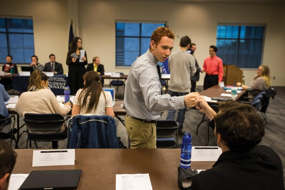 GVL /Matt Read Student Senate meets on Thursday November 13th, 2017. They opened with discussing their social media outreach.