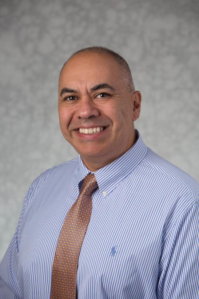 GVL / Courtesy - gvnow Tim Marroquin is the new director for TRIO Veterans Upward Bound.