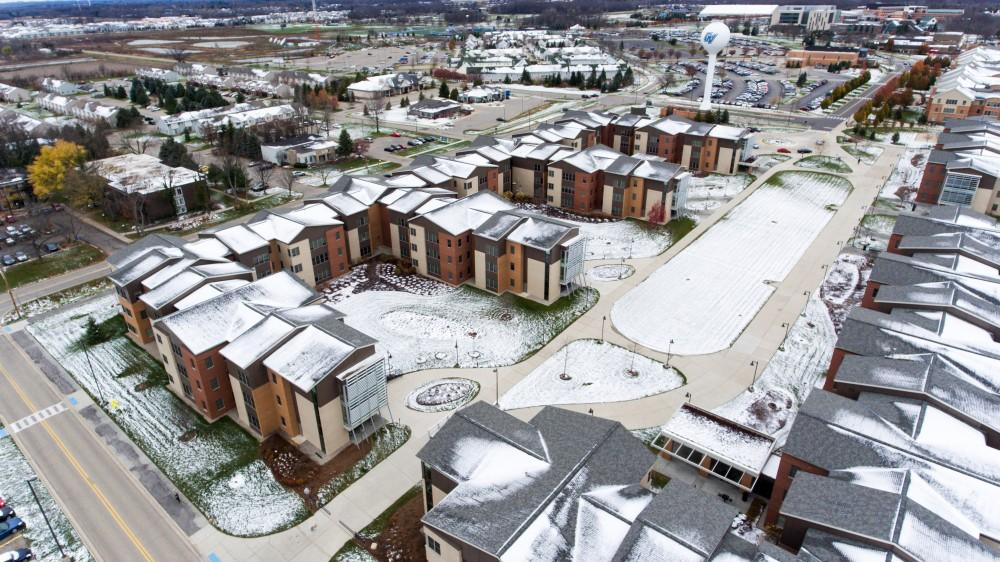 GVL/Kevin Sielaff - Grand Valleys South Apartments as seen from above on Sunday, Nov. 20, 2016.
