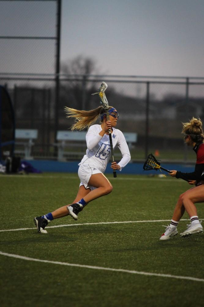 GVSU's women's lacrosse season ends after loss in the second round of the GLIAC tournament