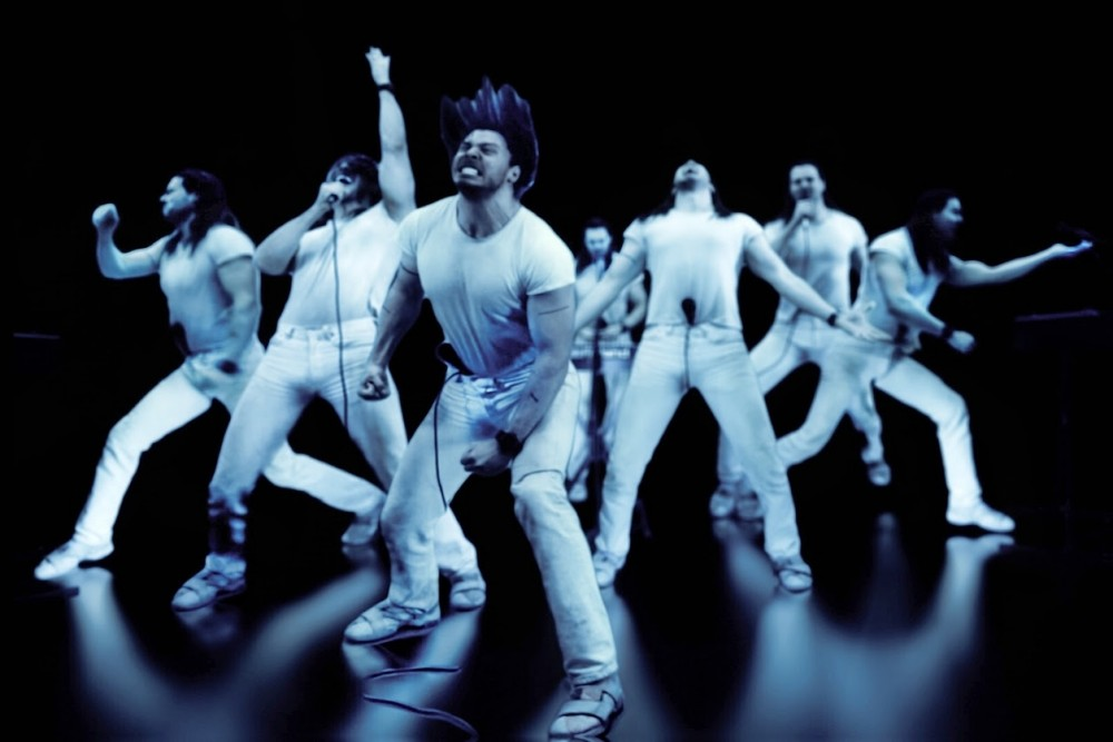 <p>Courtesy / Jeff Kilgour Andrew W.K. parties hard in the music video for