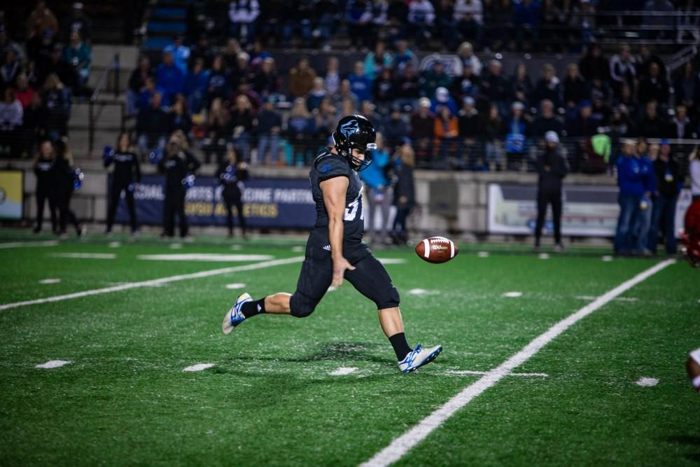 GVL / Sheila Babbitt Homecoming football  game vs Dixie State on October 7th, 2018.
